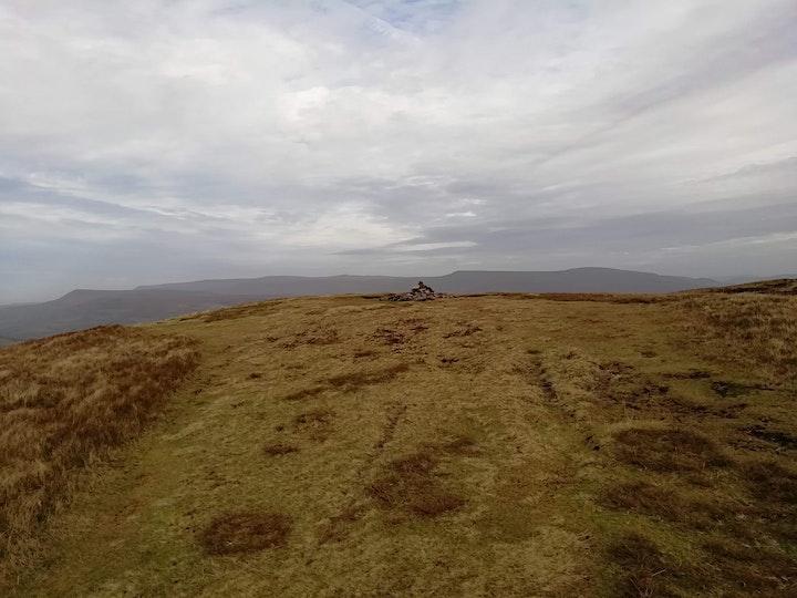 Hiking above Talybont-on-Usk image