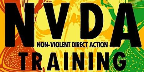 Merton XR  Non-Violent Direct Action (NVDA) training tickets