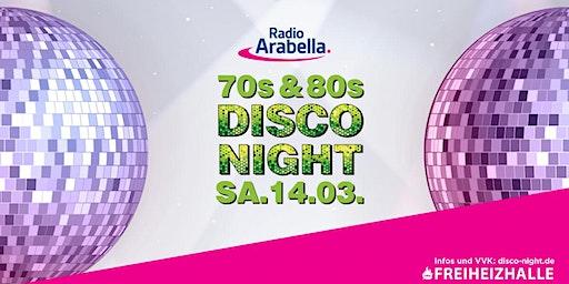 Radio Arabella Disco Night im März 2020