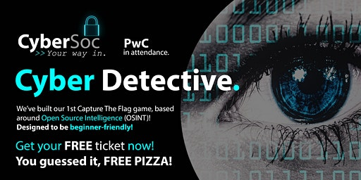 Cyber Detective | CyberSoc featuring PwC