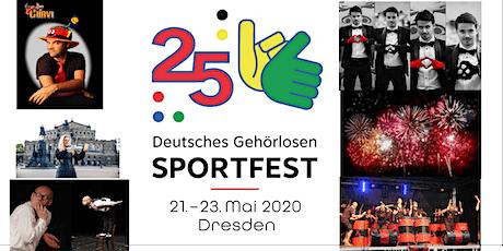 25. Deutsches Gehörlosen Sportfest 2020 Tickets