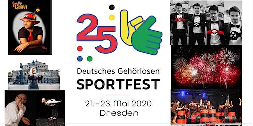 25. Deutsches Gehörlosen Sportfest 2020