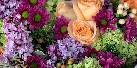 French Bouquet Flower Workshop tickets