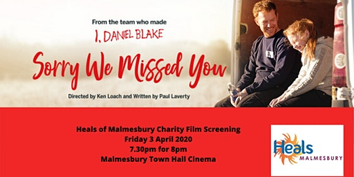 Heals of Malmesbury Charity Film Screening 'Sorry We Missed You'