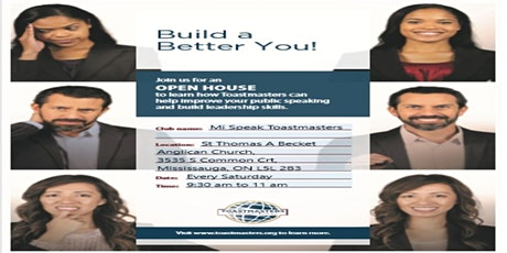 Public Speaking and Leadership Toastmasters program @ Mi Speak tickets