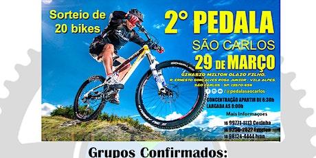 2º PEDALA SÃO CARLOS ingressos