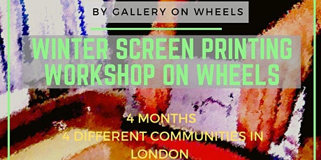 Winter Screen Printing Workshop on Wheels - CooPepys tickets