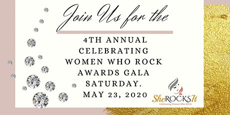 4th Annual Celebrating Women Who ROCK Awards Gala tickets