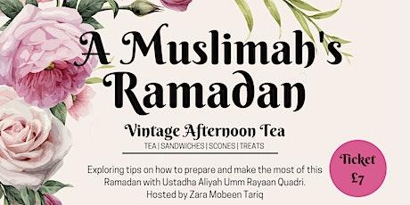 A Muslimah's Ramadan - West London tickets
