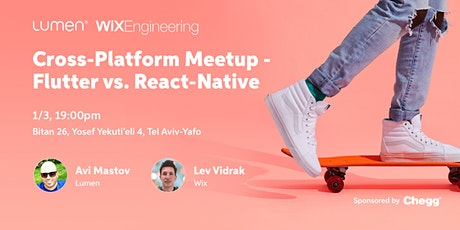 Cross-Platform Meetup - Flutter vs. React-Native tickets