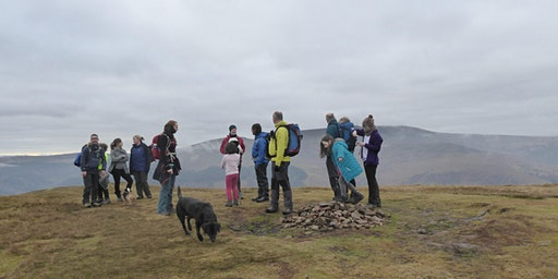 Hiking above Talybont-on-Usk