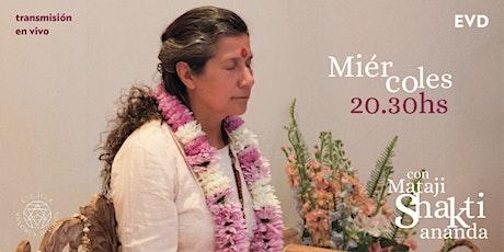 Meditación Guiada junto a Mataji Shaktiananda entradas