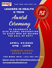 LEADERS IN HEALTH & TECH 2020-Award Ceremony GHANA tickets