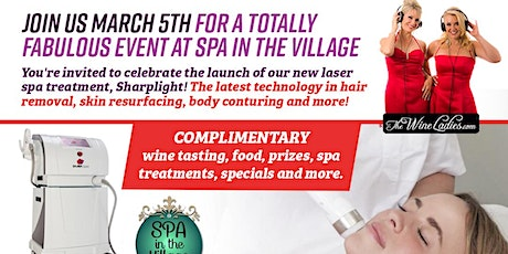 Join Us March 5th Spa in the Village tickets