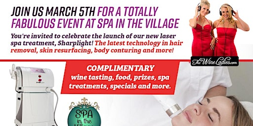 Join Us March 5th Spa in the Village