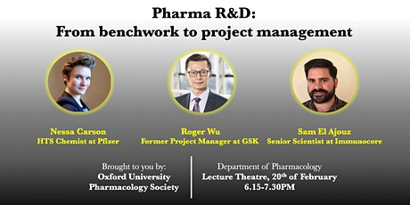 Pharma R&D : from benchwork to project management tickets