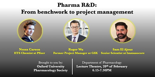 Pharma R&D : from benchwork to project management