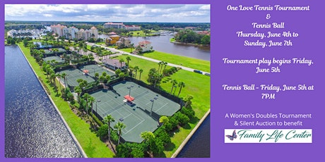 One Love 2020 - Tennis Tournament & Tennis Ball tickets
