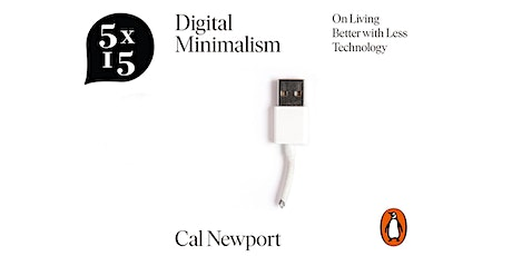 Cal Newport & Tim Harford on Living Better with Less Technology tickets
