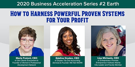 How to Harness Powerful Proven Systems for Your Profit tickets