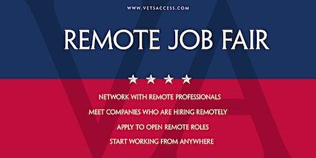 Remote Work - Virtual Job Fair tickets