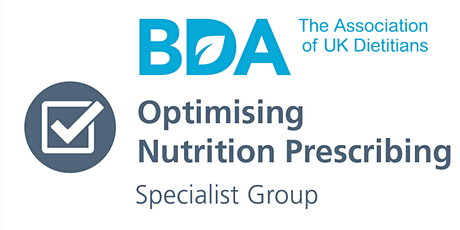 Optimising Nutrition Prescribing Study day tickets
