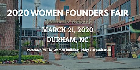 2020 WOMEN FOUNDERS FAIR (VENDORS NEEDED) tickets