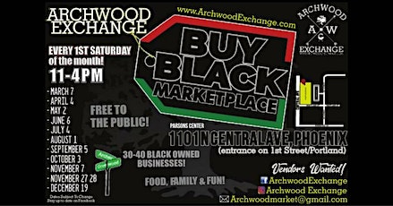 Buy Black Marketplace by Archwood Exchange tickets