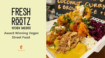 Fresh Rootz Vegan Takeover