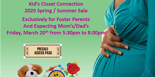 Foster Parents and Expecting Mom's Presale Spring Summer 2020