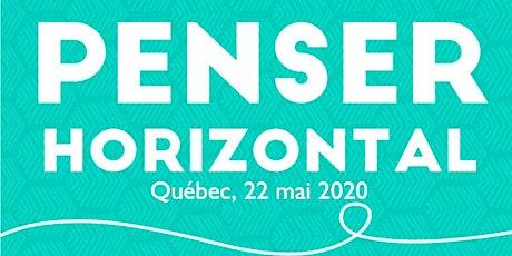 Penser horizontal: atelier pratique (Québec) billets