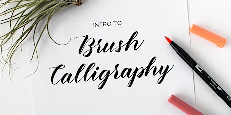 Intro to Brush Calligraphy tickets