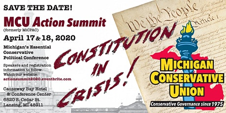 Michigan Conservative Union Action Summit (formerly MiCPAC) tickets