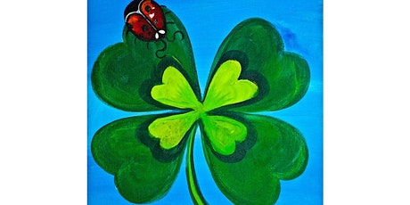 Kids & Adult Couples Shamrock Sip & Paint tickets