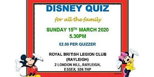 Family Disney Quiz