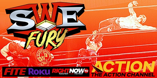 SWE Fury National TV Tapings Studio Audience Tickets