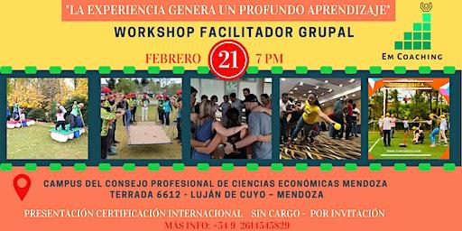 "Workshop Facilitador Grupal ""La experiencia genera un profundo aprendizaje"""