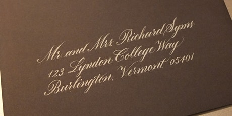 Intro to Copperplate (May 30/31) - with Laura Di Piazza tickets