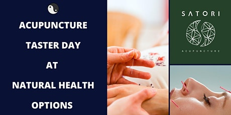 Acupuncture Taster day at Natural Health Options tickets