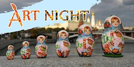 Matroyoshka ArtNight: Russian doll workshop
