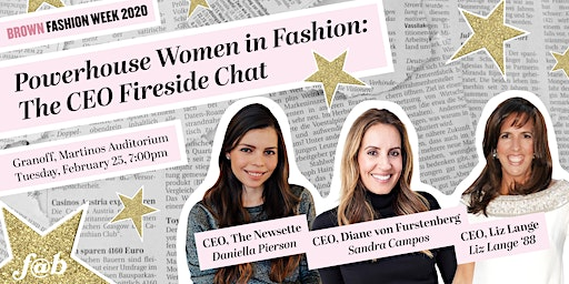 Powerhouse Women in Fashion: The CEO Fireside Chat