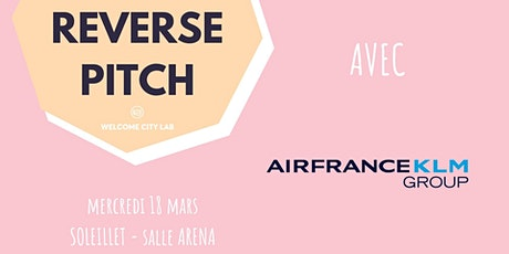 Reverse Pitch | AirFrance KLM Group billets