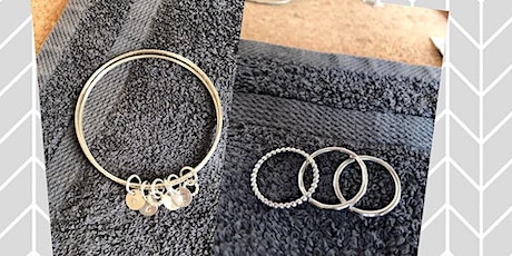 Deposit for Make Your Own Stacking Rings or Bangle tickets