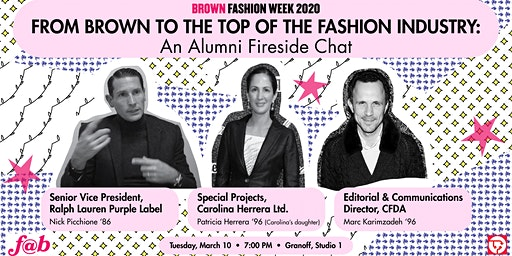 From Brown to the Top of the Fashion Industry: An Alumni Fireside Chat