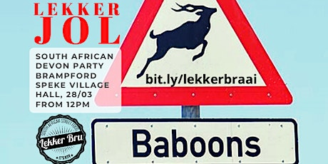 South African Lekker Braai and Hang out tickets