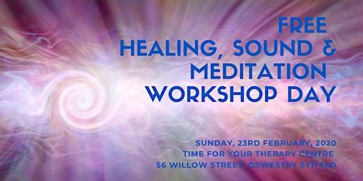 Free Healing, Sound and Meditation Workshop