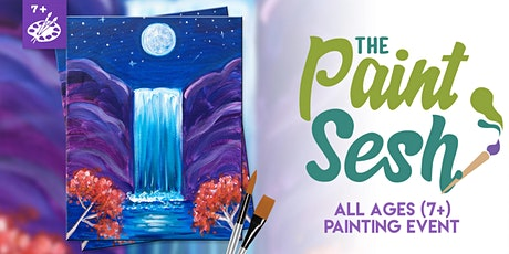 All Ages Paint Night (7+) in Riverside: Night Falls tickets