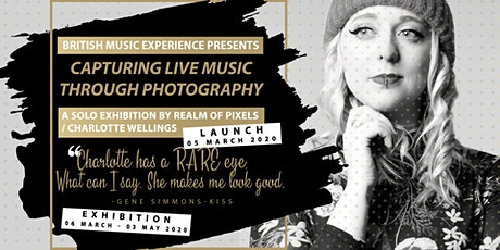 Capturing Live Music Through Photography |  Exhibition Launch tickets