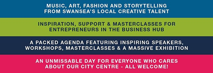 Swansea City Centre Conference #ItsYourSwansea2020 image