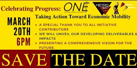 Celebrating Progress: Taking Action Toward Economic Mobility tickets